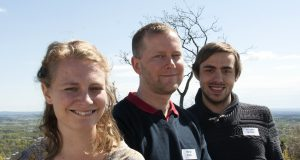 Amanda Westlander, Marcus Ålsnäs och Alexander Engman.